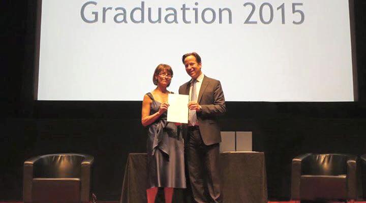 odette selva's graduation from holt's academy