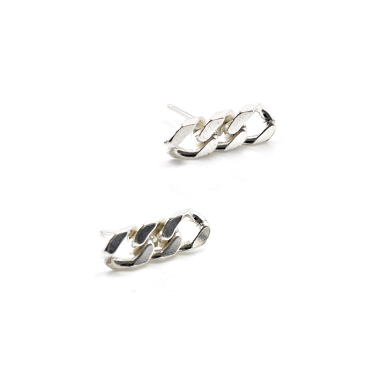 curb earrings