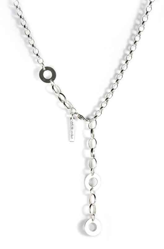 necklace with round links