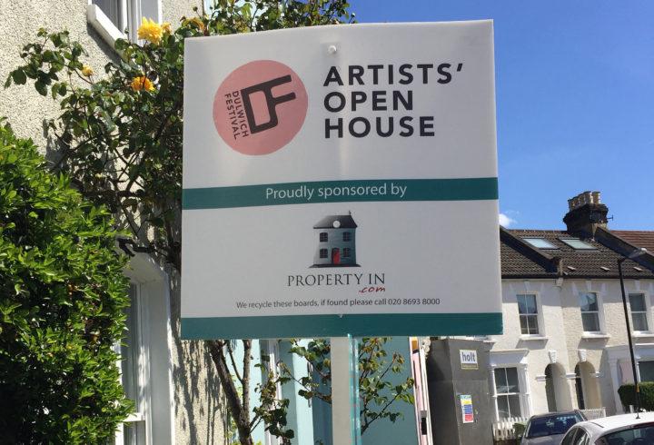 dulwich festival artist open house